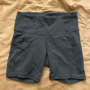 Lululemon Fast and Free Shorts, Size 6